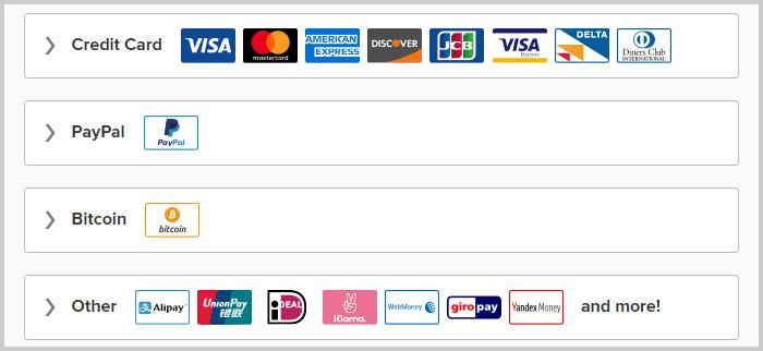ExpressVPN Payment Method