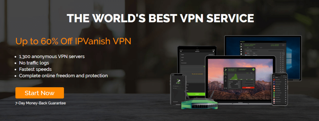 IPVanish Review Website