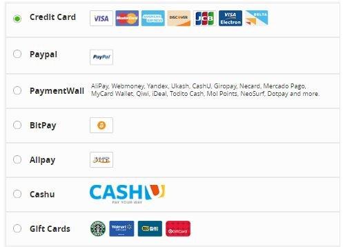 PureVPN Payment Options