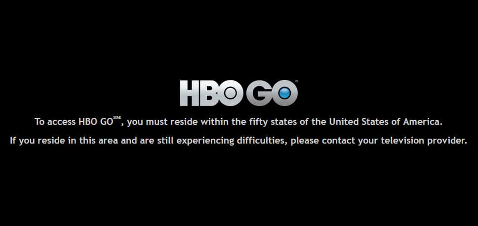 HBO Go banned