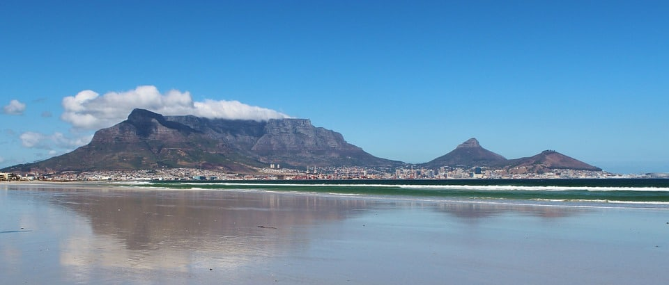 Table Mountain, South Africa: