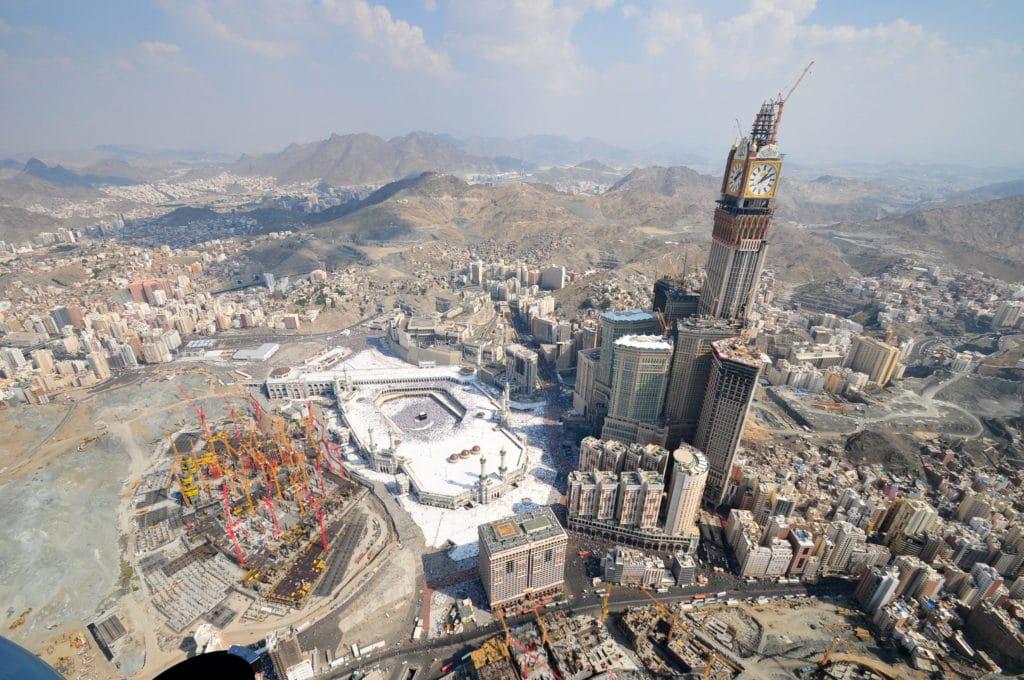 tallest buildings Makkah Royal Clock Tower
