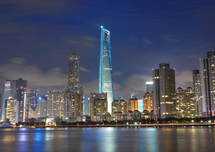tallest buildings Shanghai World Financial Center