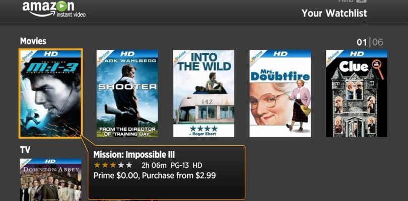 Amazon Prime Movies