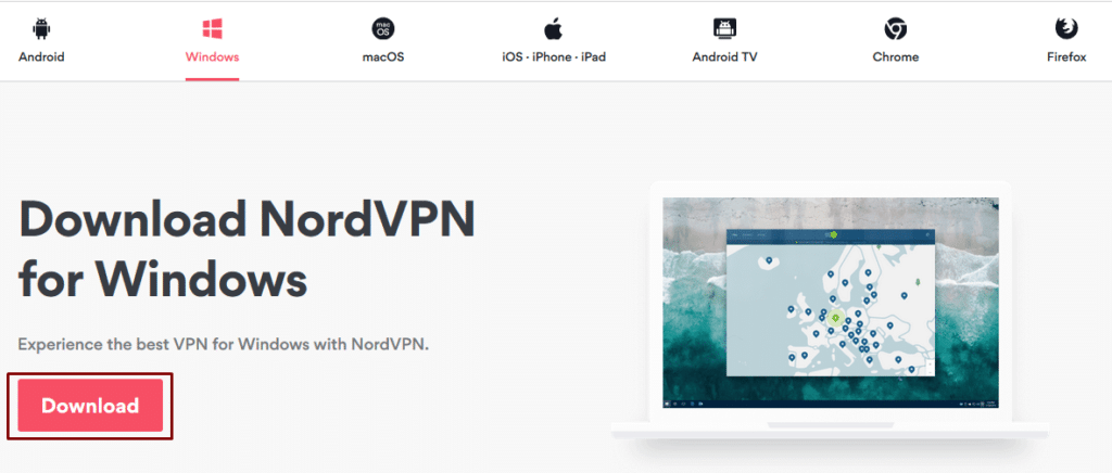 Nord Windows VPN Client