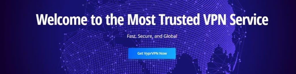 VyprVPN Homepage