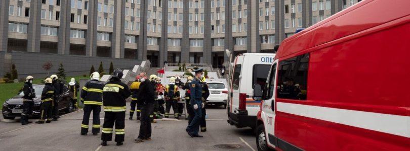 Ventilator Fire Russia