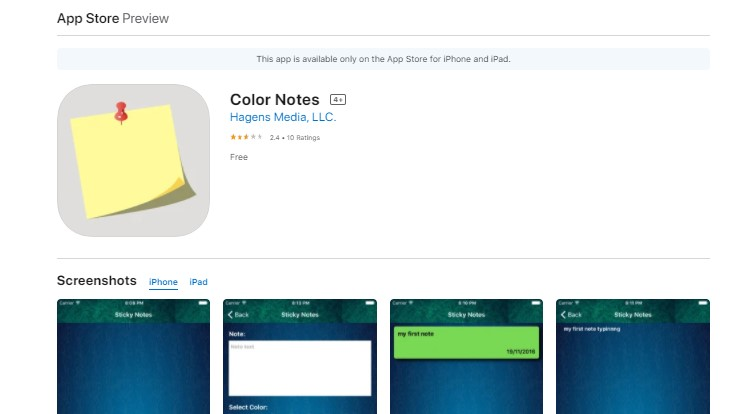 Install ColorNote for Mac